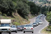 ترافیک در محور بجنورد - گلستان نیمه سنگین است