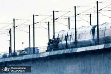 سانحه قطار در دانمارک+ تصاویر