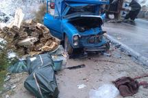 تصادف در خراسان شمالی 2 کشته داشت