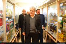 آشنایی معاون علمی رئیسجمهوری با توانمندیهای صنعت قزوین