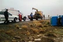 حوادث رانندگی خراسان شمالی یک کشته و 6 مجروح داشت