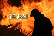 انفجار گاز در خوی چهار مصدوم برجا گذاشت