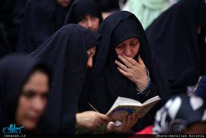 عزاداری شهادت امام رضا(ع) در حرم مطهر امام خمینی