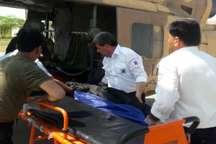 امداد رسانی به بیمار بدحال در لالی با اورژانس هوایی