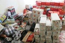 350 کیلوگرم مواد غذایی فاسد در فسا جمع آوری شد