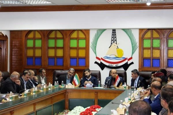 نشست استانداران خوزستان و بصره عراق+ گزارش تصویری