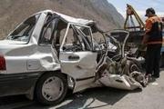 برخورد پراید با کامیون در لامرد یک کشته داشت