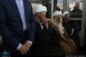 تشییع پیکر حجتالاسلام و المسلمین سید مهدی طباطبایی(ره)-1