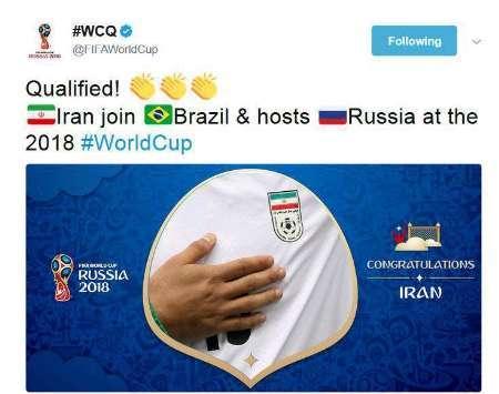 تبریک فیفا به ملی پوشان ایران برای صعود به جام جهانی