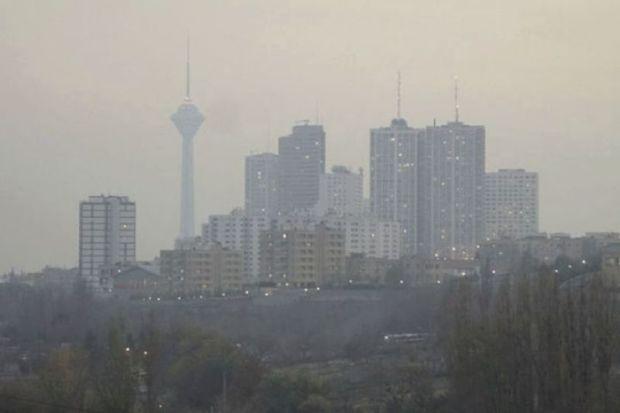 غلظت آلاینده های جوی در استان تهران افزایش پیدا می کند