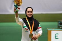 ساره جوانمردی، مدال طلای جام جهانی تیراندازی معلولان را کسب کرد