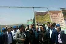 رئیس سازمان محیط زیست از دهکده طبیعت قزوین بازدید کرد