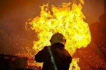 مرگ یک معتاد بر اثر آتش سوزی خانه متروکه در نوشهر