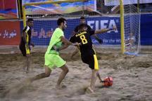 تیم فوتبال ساحلی ایفا اردکان، پارس جنوبی بوشهر را شکست داد