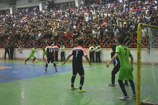 فوتسال جام رمضان آستارا با قهرمانی تیم عنبران خاتمه یافت