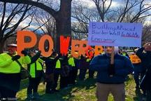 تظاهرات آمریکایی ها علیه دیوار ترامپ+ تصاویر