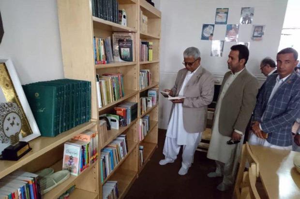 کتابخانه روستایی در دهستان ابتر ایرانشهر افتتاح شد