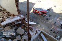 نشت گاز علت انفجار در گلستان شهر بجنورد اعلام شد