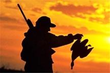شکارچیان درنا در شب برفی تالاب میقان دستگیر شدند
