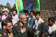 تداوم خدمت رسانی سپاه و بسیج در مناطق سیل زده گلستان