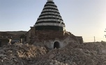 تخریب بنای دوره سلجوقی در کهگیلویه و بویراحمد به بهانه تعمیر/ عکس