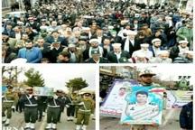پیکر افسر شهید نیروی انتظامی در تربت جام تشییع شد