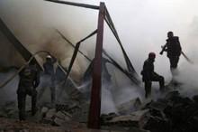 کشته شدن 33 غیرنظامی سوری در حمله هوایی ائتلاف آمریکا