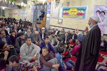 آیین پیروزی سالگرد انقلاب در بهاباد برگزار شد