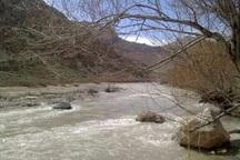 بارندگی ها آب رودخانه های شهرستان نمین را افزایش داد