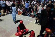 استقبال مردمی از نمایش های خیابانی بسیار خوب است