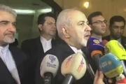 اظهارات ظریف در مصاحبه با خبرنگاران پس از دیدار با ولید المعلم در دمشق