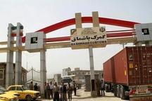 کسب رتبه نخست ترانزیت خارجی  برای گمرک باشماق در کردستان