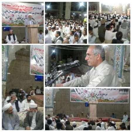 امام جمعه اهل سنت مسجد مکی زاهدان: شرکت در انتخابات اطاعت از رهبری بود