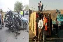 5 کشته و 21 مصدوم بر اثر وقوع 2 حادثه رانندگی در جنوب آذربایجان غربی