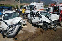 19 تن در سوانح جاده ای همدان جان باختند