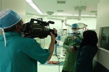 طحال بیمار ۴۰ ساله به روش لاپاراسکوپی در بیمارستان آیت الله کاشانی شهرکرد برداشته شد