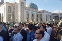 کاروان شادی عید مبعث درقم به راه افتاد