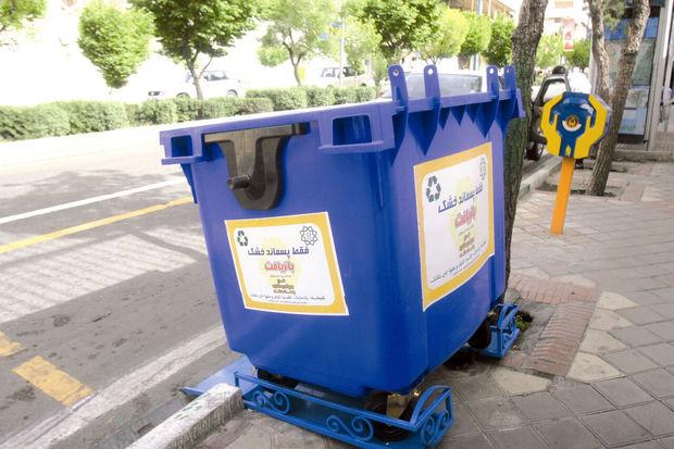 بیشاز ۷۰درصد شهر زاهدان به مخازن جدید زباله مجهز شدند