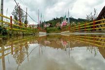 بارش 108 میلی متری مازندران را خنک کرد