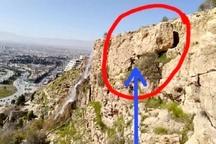 پس از تخریب سنگ ۷۰ تنی محدوده خواجوی کرمانی ایمنسازی میشود