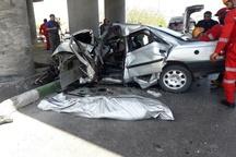 کشته شدن مرد جوان براثر سانحه رانندگی در صدمتری بابانظر مشهد