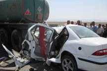 تصادف رانندگی در بوئین زهرا جان یک نفر را گرفت