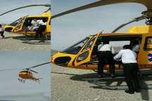 17عملیات امدادرسانی اورژانس هوایی ایلام