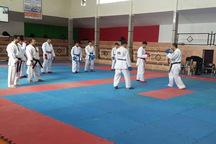 تیم ملی کاراته جوانان پسر در گلستان اردو زد