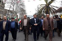 حضورگسترده مردم در راهپیمایی22 بهمن نشانگر بلوغ سیاسی است