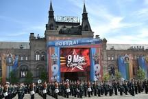 تصاویر/ رژه «روز پیروزی» در روسیه