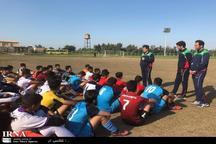 تیم ملی فوتبال جوانان در شوش اردو زد