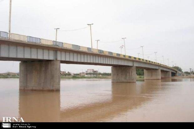 پل ایستگاه هفت آبادان مسدود شد