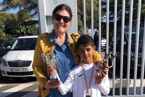 پسر رونالدو برترین گلزن مدرسه شد+عکس