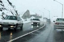جاده سمنان- فیروزکوه بازگشایی شد